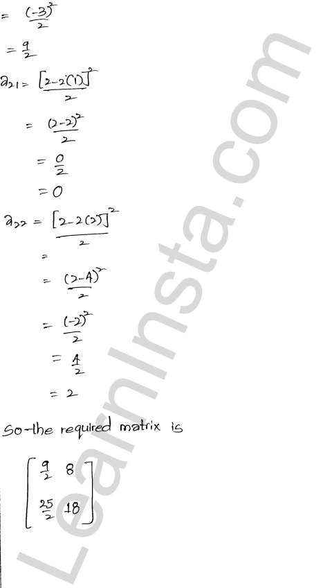 RD Sharma Class 12 Solutions Chapter 5 Algebra of Matrices Ex 5.1 5