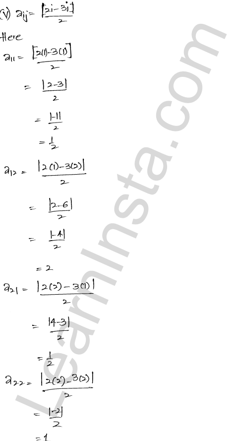 RD Sharma Class 12 Solutions Chapter 5 Algebra of Matrices Ex 5.1 6