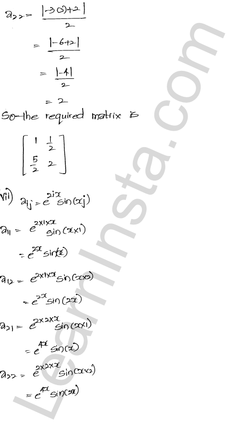 RD Sharma Class 12 Solutions Algebra of Matrices Chapter 5 Ex 5.1 8