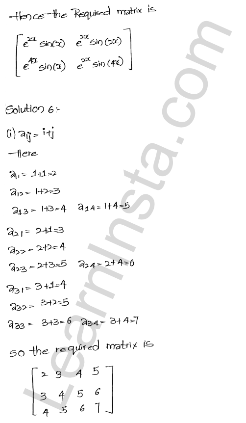 RD Sharma Class 12 Solutions Algebra of Matrices Chapter 5 Ex 5.1 9