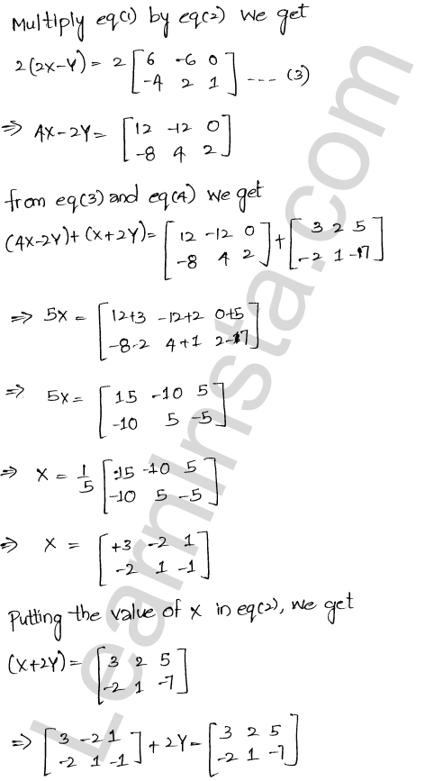 RD Sharma Class 12 Solutions Algebra of Matrices Chapter 5 Ex 5.2 12