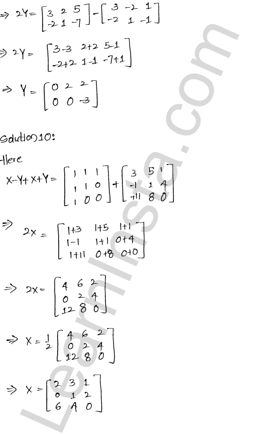 RD Sharma Solutions Class 12 Algebra of Matrices Chapter 5 Ex 5.2 13