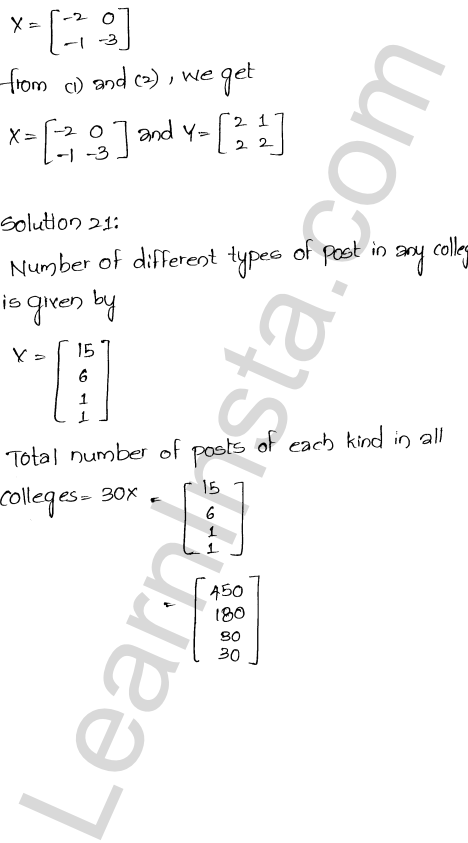 RD Sharma Class 12 Maths Solutions Chapter 5 Algebra of Matrices EX 5.2 25