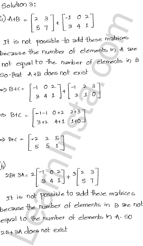 RD Sharma Class 12 Solutions Chapter 5 Algebra of Matrices Ex 5.2 4