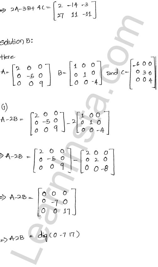 RD Sharma Class 12 Solutions Chapter 5 Algebra of Matrices Ex 5.2 6