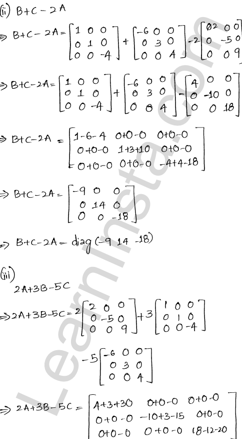 RD Sharma Class 12 Solutions Algebra of Matrices Chapter 5 Ex 5.2 7