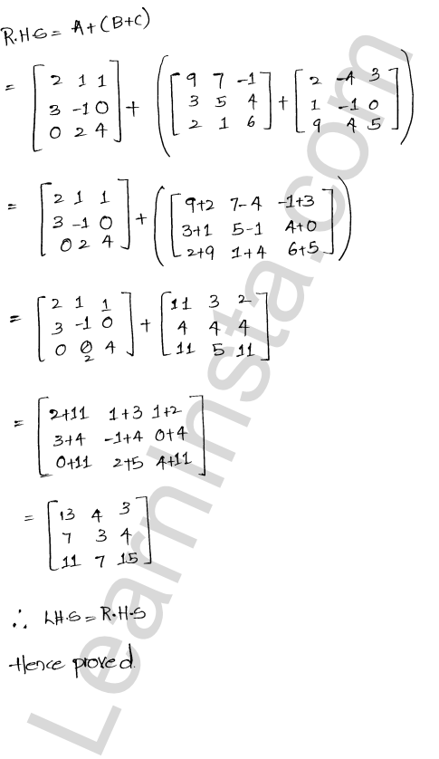 RD Sharma Class 12 Solutions Algebra of Matrices Chapter 5 Ex 5.2 9
