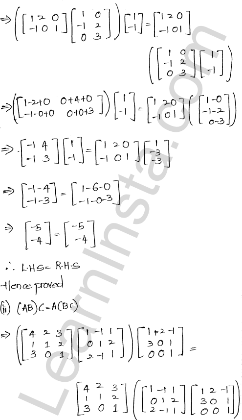 RD Sharma Class 12 Solutions Algebra of Matrices Chapter 5 Ex 5.3 17