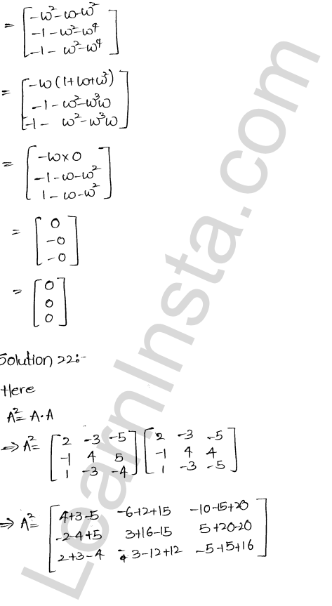 RD Sharma Class 12 Solutions Algebra of Matrices Chapter 5 Ex 5.3 24