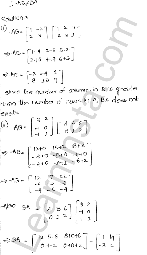 RD Sharma Class 12 Solutions Chapter 5 Algebra of Matrices Ex 5.3 4
