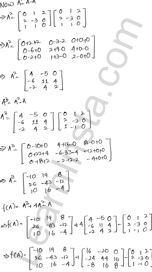 RD Sharma Class 12 Maths Solutions Chapter 5 Algebra of Matrices Ex 5.3 44