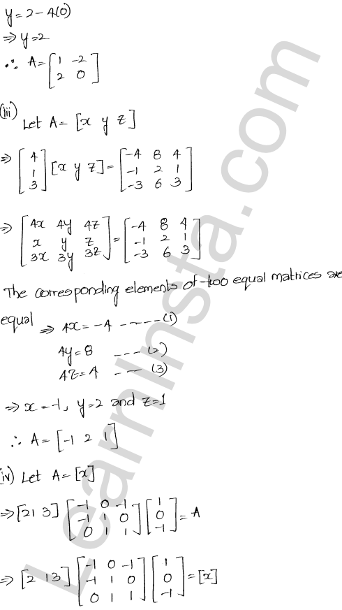 Chapter 5 Algebra of Matrices RD Sharma Class 12 Maths Solutions Ex 5.3 52