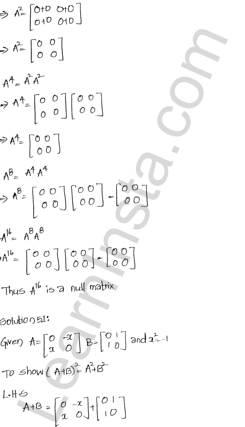 Chapter 5 Algebra of Matrices RD Sharma Class 12 Maths Solutions Ex 5.3 55