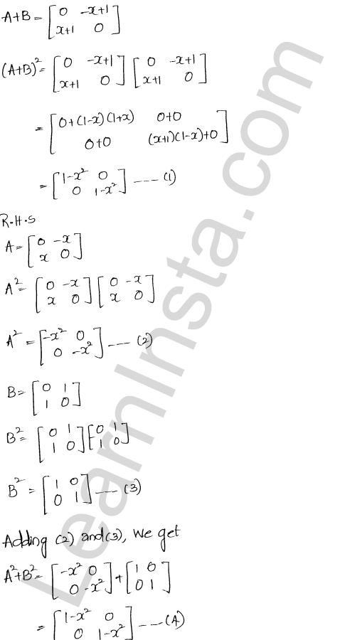 Chapter 5 Algebra of Matrices RD Sharma Class 12 Maths Solutions Ex 5.3 56