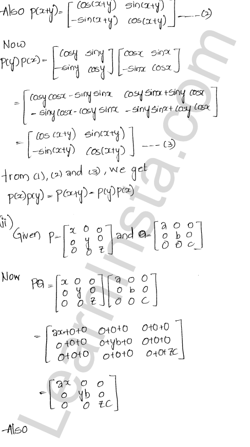 Chapter 5 Algebra of Matrices RD Sharma Class 12 Maths Solutions Ex 5.3 60