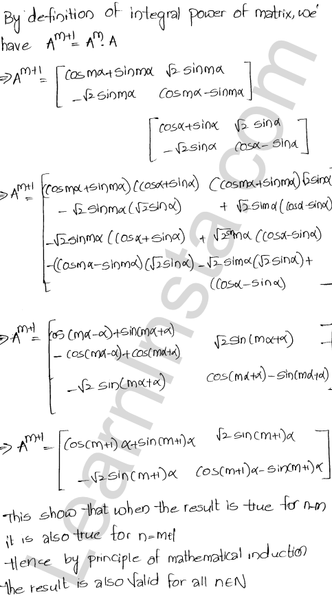 Chapter 5 Algebra of Matrices RD Sharma Class 12 Solutions Ex 5.3 67