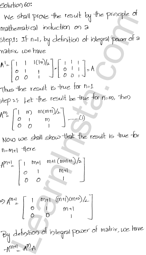 Chapter 5 Algebra of Matrices RD Sharma Class 12 Solutions Ex 5.3 68