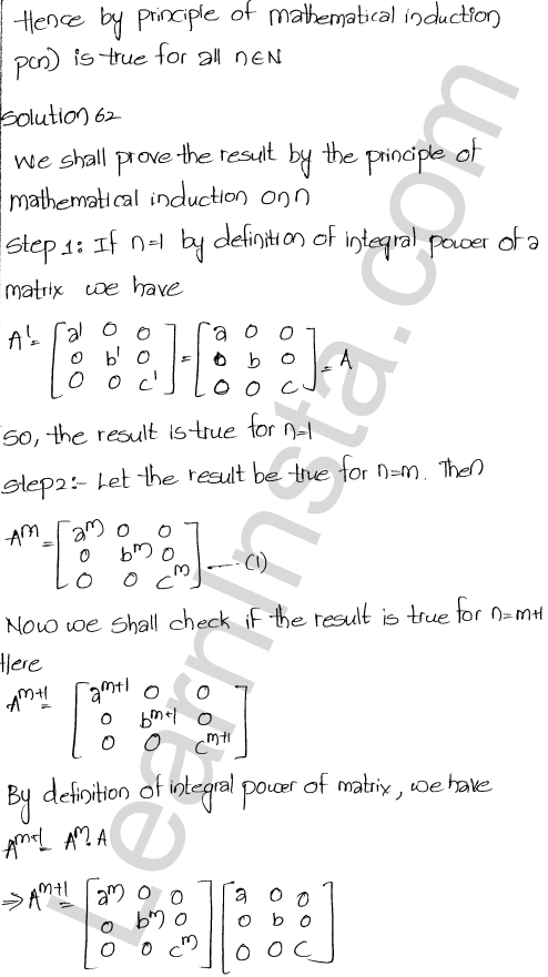 Chapter 5 Algebra of Matrices RD Sharma Class 12 Solutions Ex 5.3 71