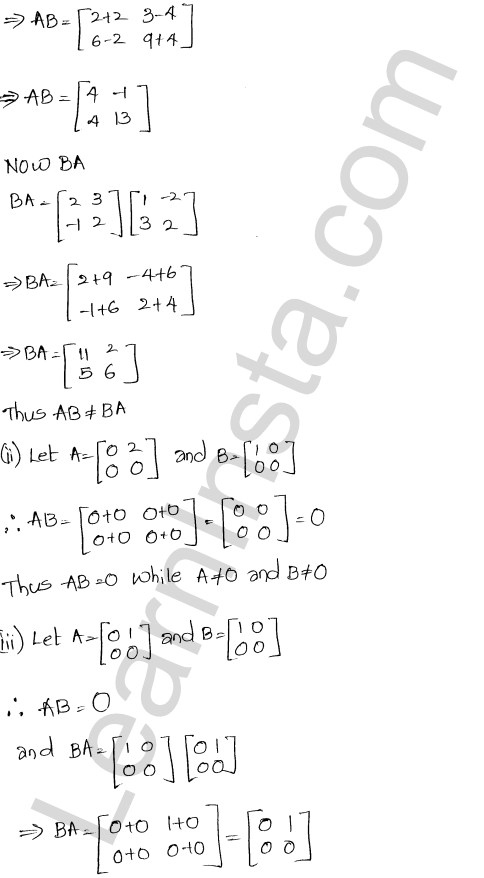 RD Sharma Class 12 Solutions Chapter 5 Algebra of Matrices Ex 5.3 74