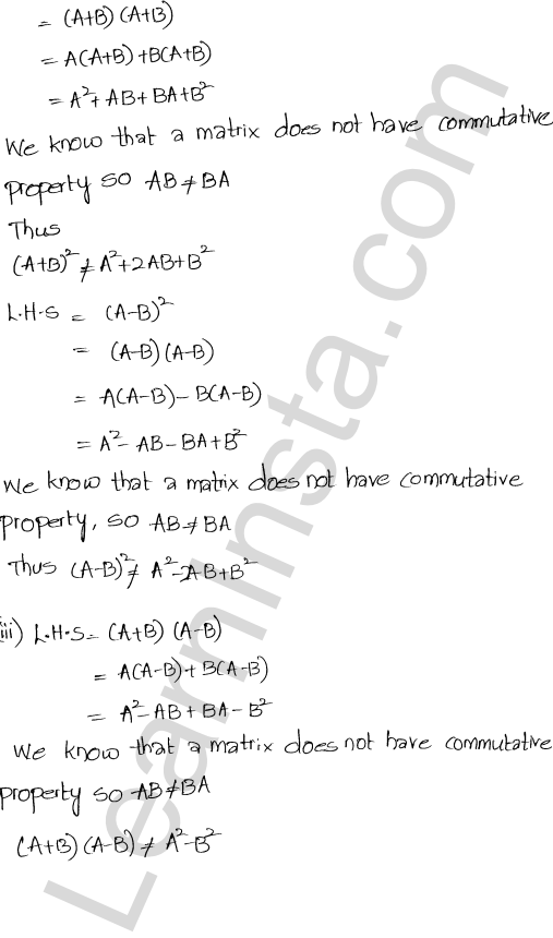 RD Sharma Class 12 Solutions Chapter 5 Algebra of Matrices Ex 5.3 76
