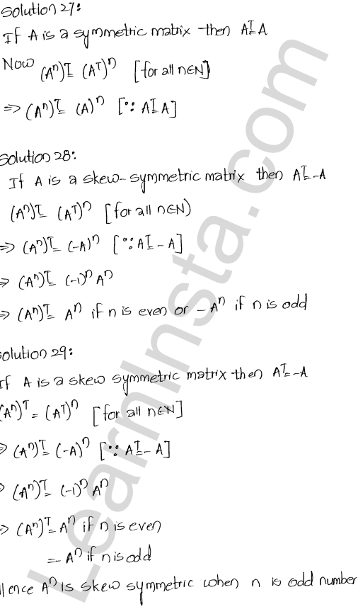 RD Sharma Solutions Class 12 Algebra of Matrices Chapter 5 Ex 5.5 13
