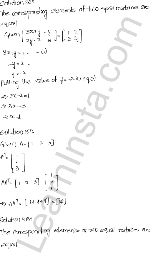 RD Sharma Class 12 Maths Solutions Chapter 5 Algebra of Matrices Ex 5.5 17
