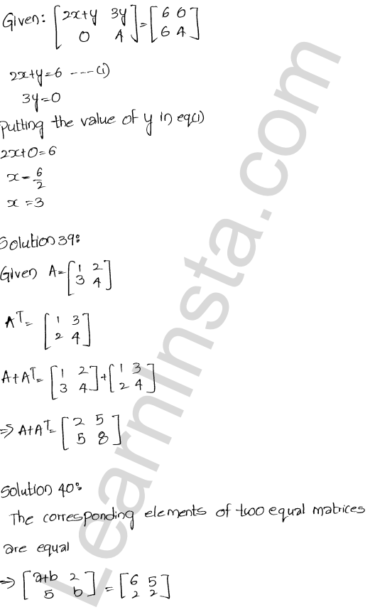 RD Sharma Class 12 Maths Solutions Chapter 5 Algebra of Matrices Ex 5.5 18