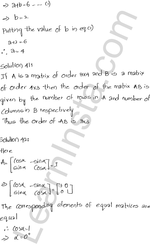 RD Sharma Class 12 Maths Solutions Chapter 5 Algebra of Matrices Ex 5.5 19