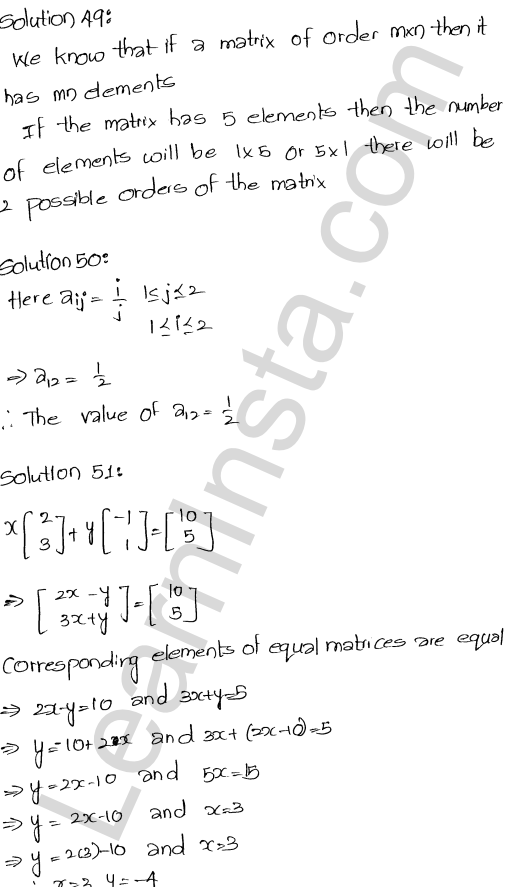RD Sharma Class 12 Solutions Chapter 5 Algebra of Matrices Ex 5.5 23