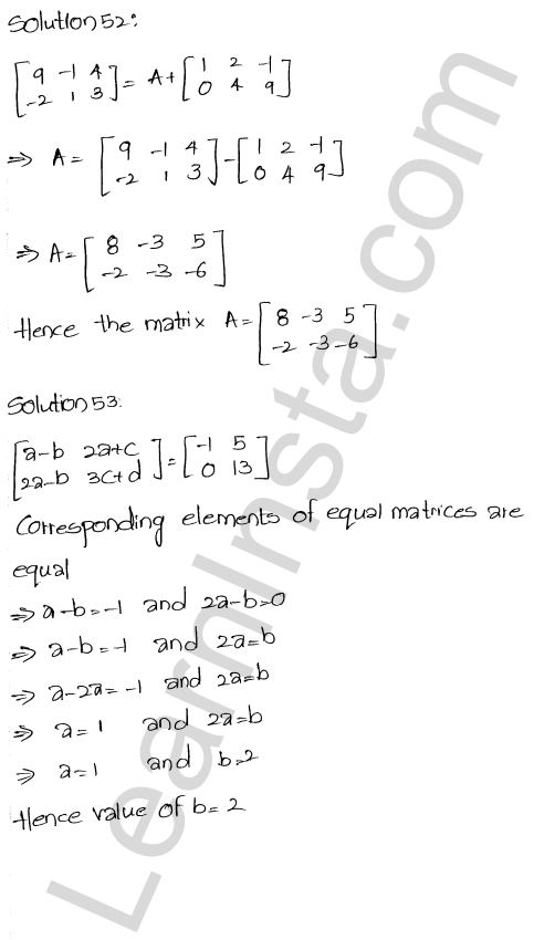 RD Sharma Class 12 Solutions Chapter 5 Algebra of Matrices Ex 5.5 24