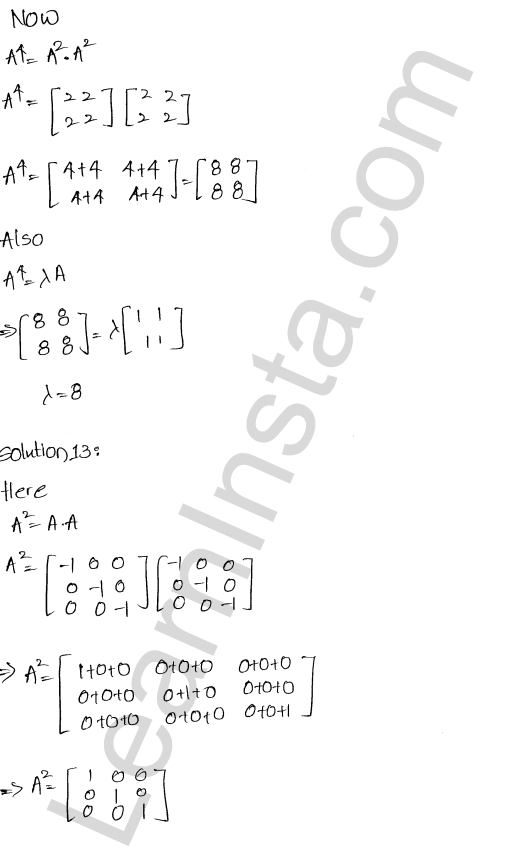 RD Sharma Class 12 Solutions Algebra of Matrices Chapter 5 Ex 5.5 6