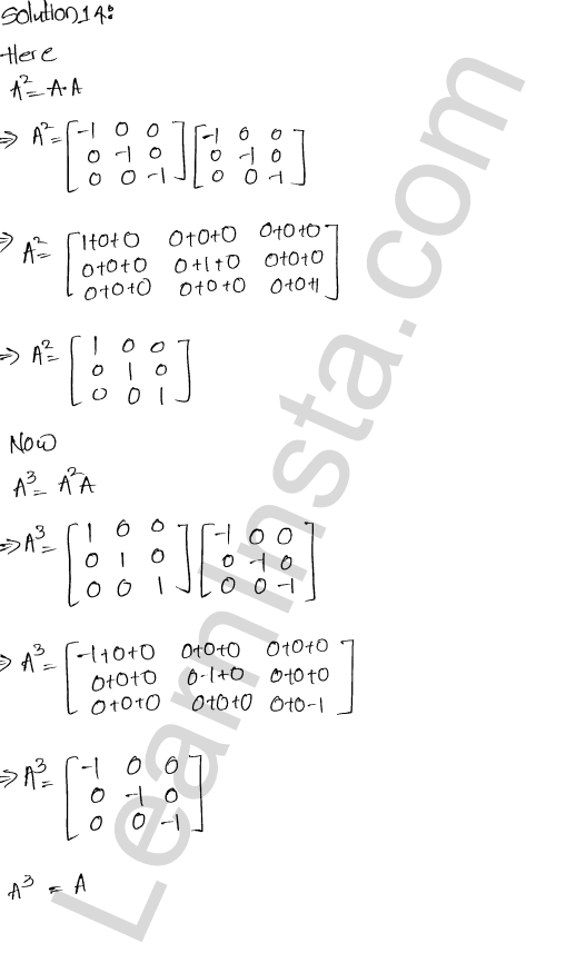 RD Sharma Class 12 Solutions  Algebra of Matrices Chapter 5 Ex 5.5 7