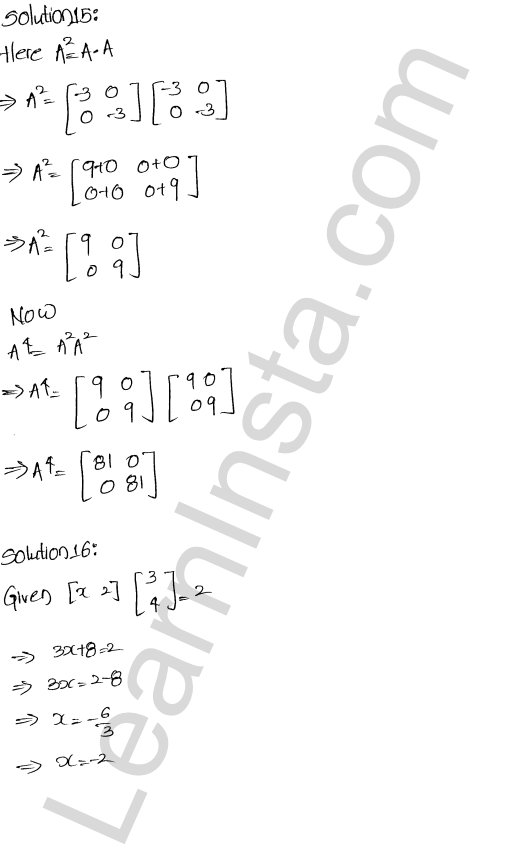 RD Sharma Class 12 Solutions Algebra of Matrices Chapter 5 Ex 5.5 8