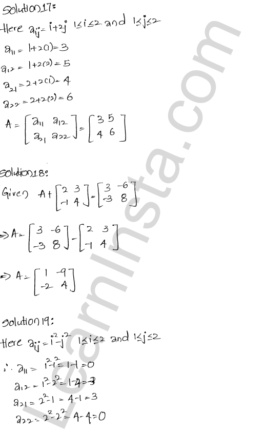 RD Sharma Class 12 Solutions Algebra of Matrices Chapter 5 Ex 5.5 9