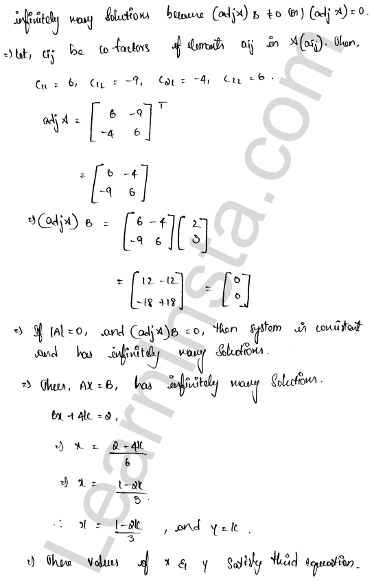 RD Sharma Class 12 Maths Solutions Chapter 8 Solution of Simultaneous Linear Equations Ex 8.1 19