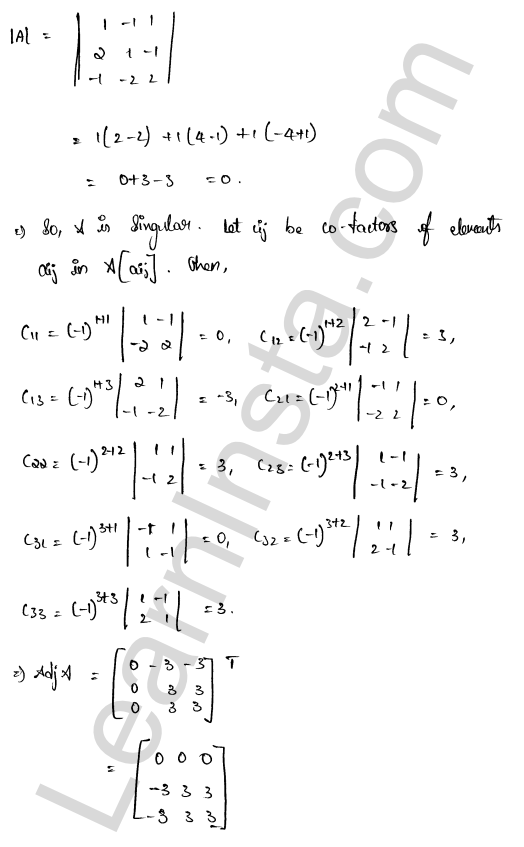 solution of RD Sharma class 12 chapter 8 Solution of Simultaneous Linear Equations Ex 8.1 25