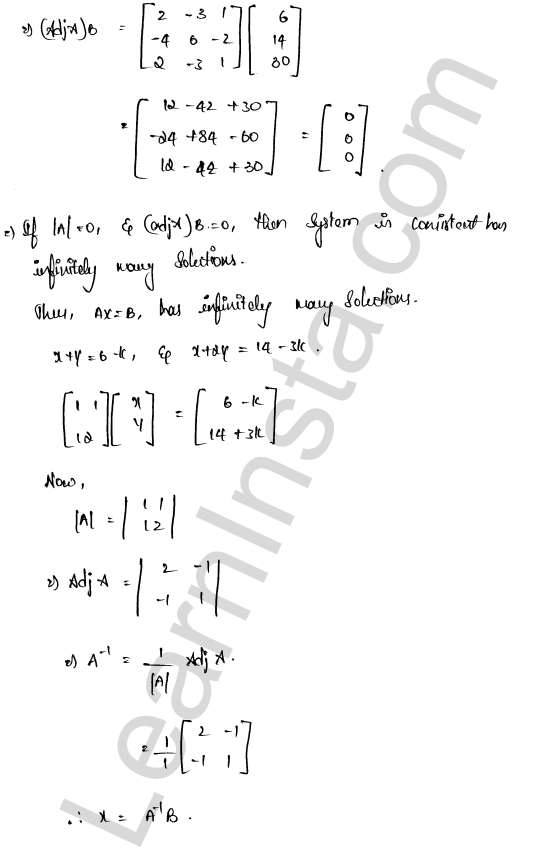solution of RD Sharma class 12 chapter 8 Solution of Simultaneous Linear Equations Ex 8.1 28