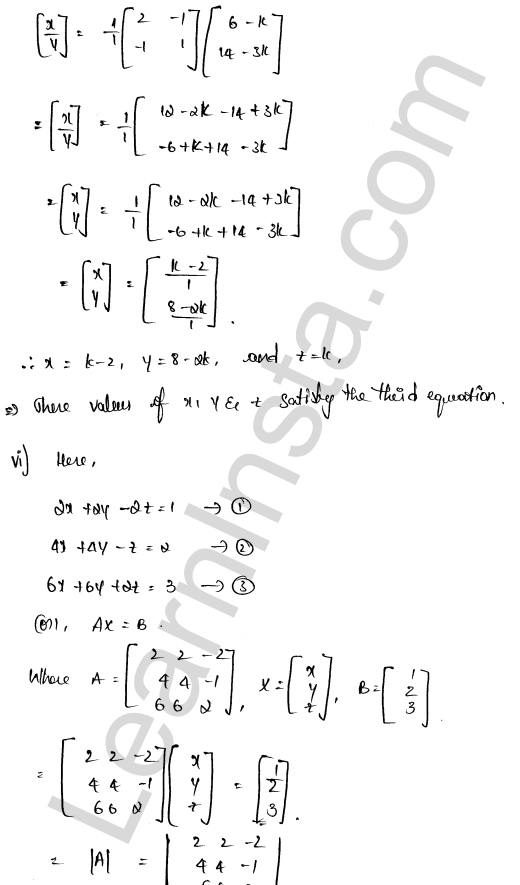 class 12 RD Sharma solutions chapter 8 Solution of Simultaneous Linear Equations Ex 8.1 30