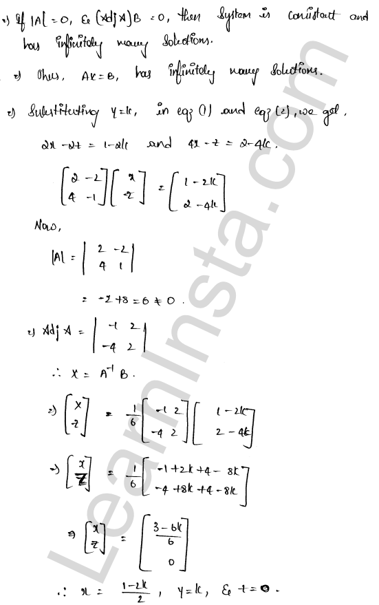 class 12 RD Sharma solutions chapter 8 Solution of Simultaneous Linear Equations Ex 8.1 32