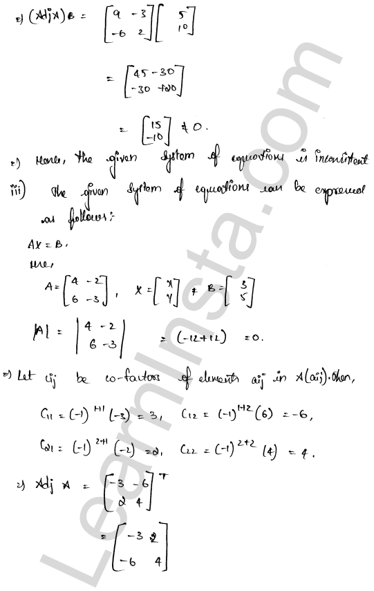 class 12 RD Sharma solutions chapter 8 Solution of Simultaneous Linear Equations Ex 8.1 35