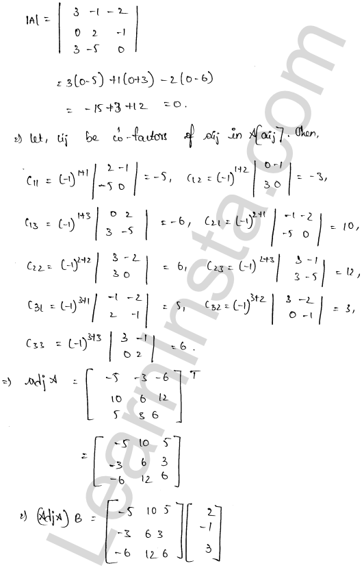 class 12 RD Sharma maths solutions chapter 8 Solution of Simultaneous Linear Equations Ex 8.1 38