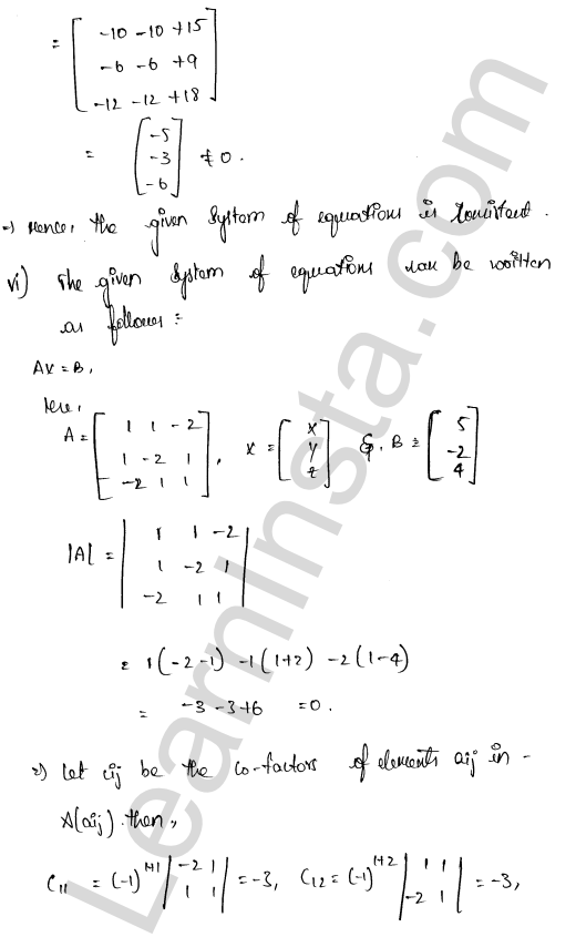 class 12 RD Sharma maths solutions chapter 8 Solution of Simultaneous Linear Equations Ex 8.1 39