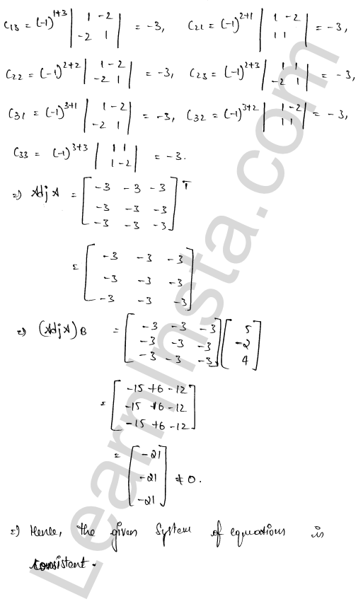 class 12 RD Sharma maths solutions chapter 8 Solution of Simultaneous Linear Equations Ex 8.1 40