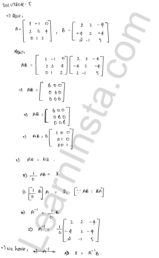 class 12 RD Sharma maths solutions chapter 8 Solution of Simultaneous Linear Equations Ex 8.1 41
