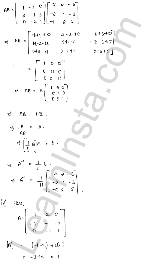 RD Sharma Class 12 Solutions Solution of Simultaneous Linear Equations Chapter 8 Ex 8.1 50