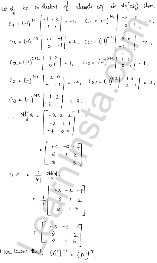 RD Sharma Class 12 Solutions Solution of Simultaneous Linear Equations Chapter 8 Ex 8.1 51