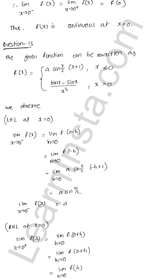 RD Sharma Class 12 Maths Solutions Chapter 9 Continuity Ex 9.1 20