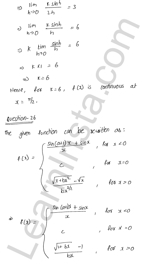class 12 RD Sharma maths solutions chapter 9 Continuity Ex 9.1 33