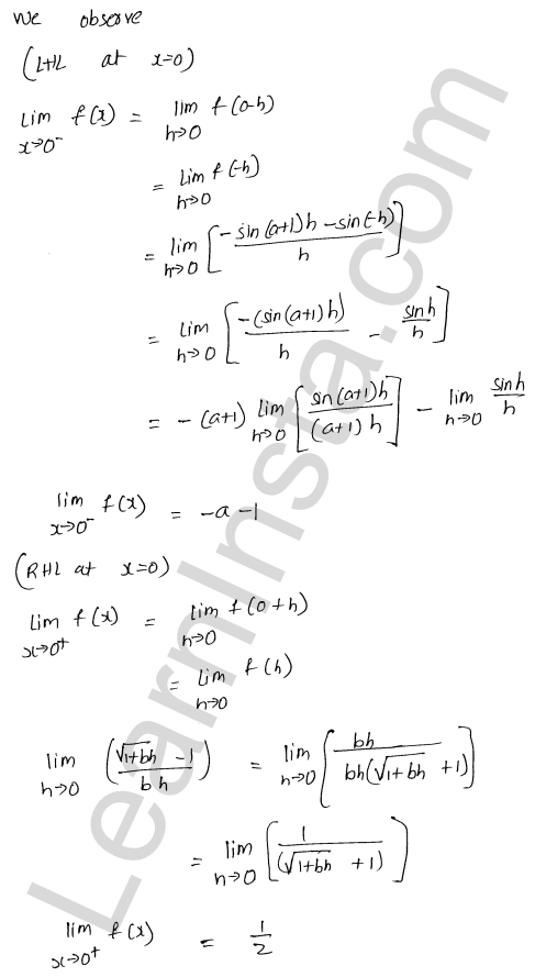 class 12 RD Sharma maths solutions chapter 9 Continuity Ex 9.1 34