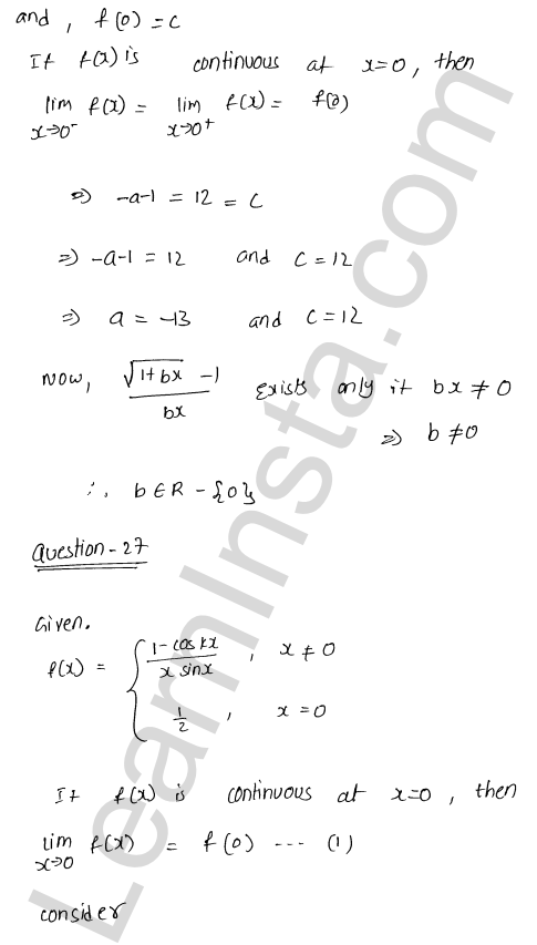 class 12 RD Sharma maths solutions chapter 9 Continuity Ex 9.1 35
